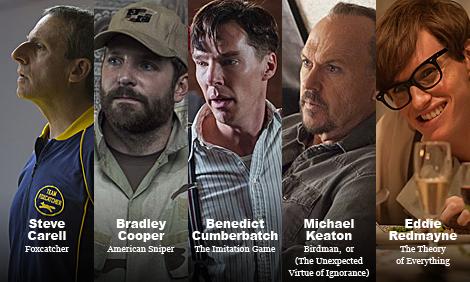 Oscar15 Actor